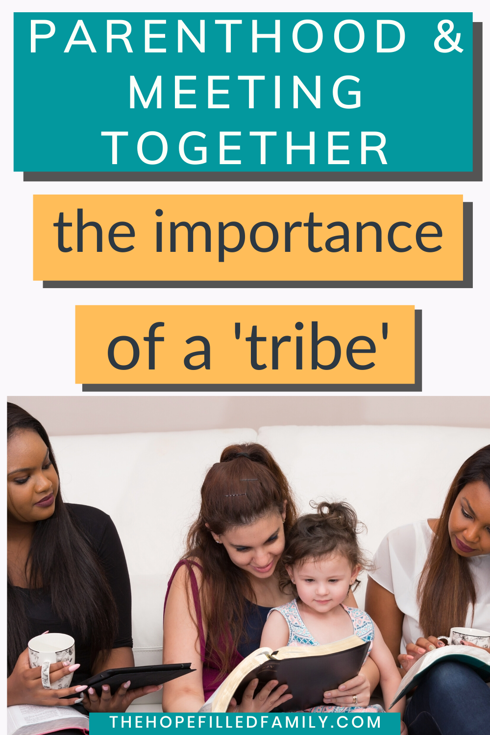 The importance of finding your 'tribe' as a Christian parent and some ideas for how to do it!