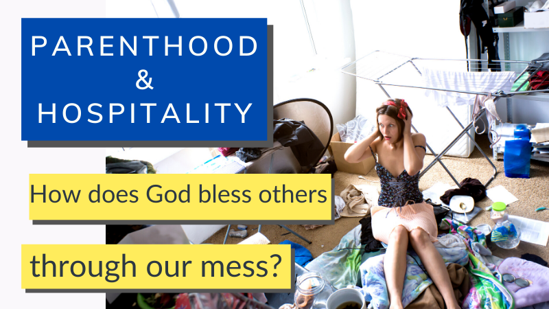 Hospitality is hard, but when kids come along it becomes even harder. Less time and more mess - how can God use us in our newly-frazzled state? Here are some ideas to encourage you.