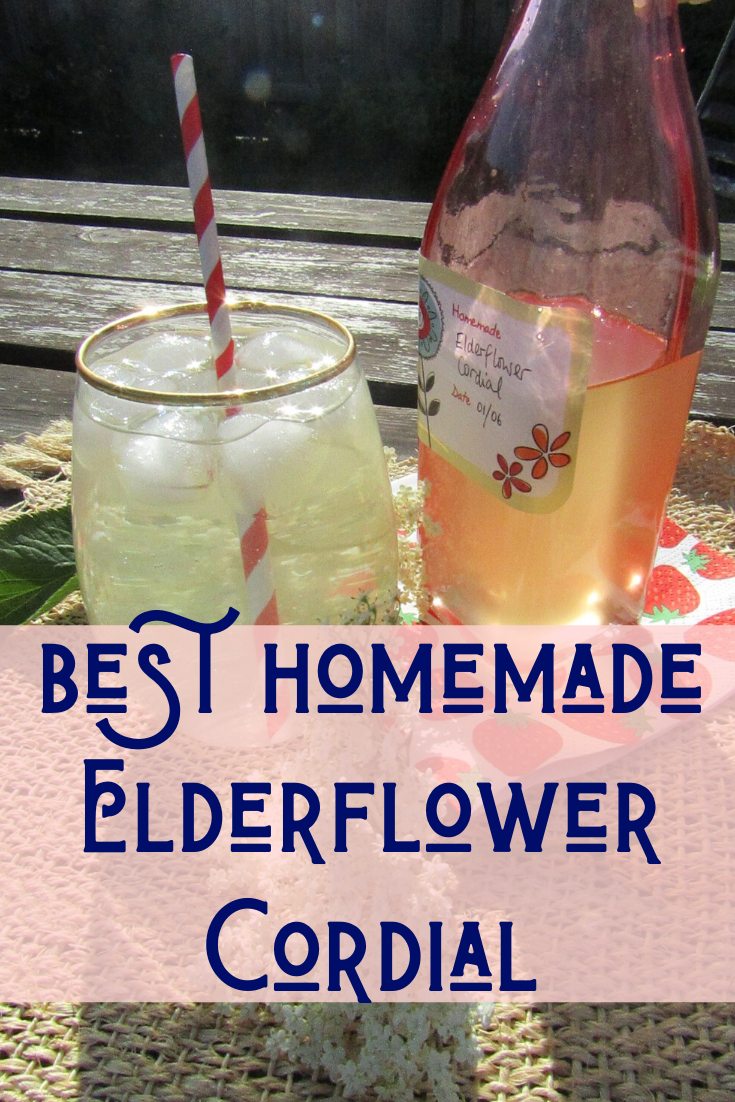 Step-by-step guide for how to make homemade elderflower cordial. This refreshing, non-alcoholic summer drink is incredibly easy to make and oh, so moreish!