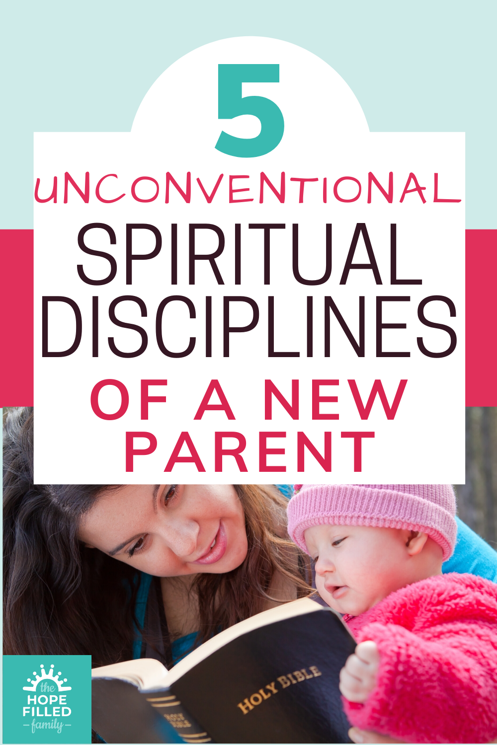 How do I keep my faith alive with small children? How do I commit to spiritual disciplines when I'm a new parent?