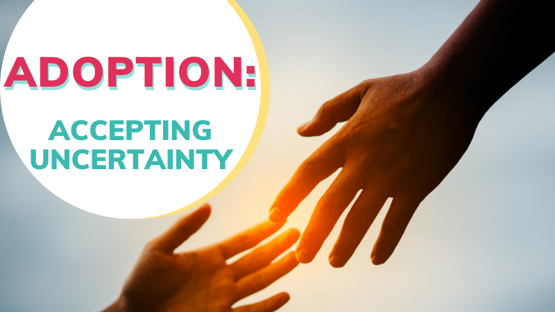 What are the uncertainties surrounding adoption? How can we accept them in faith?