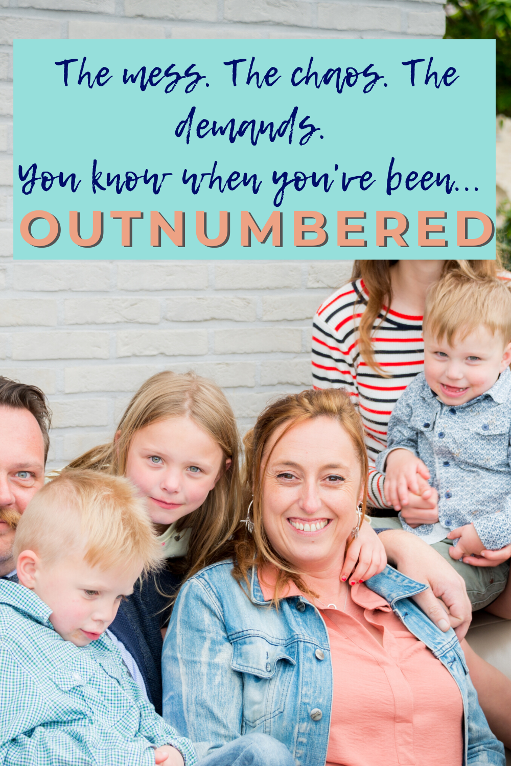 How do you deal with a large family? What will my family life look like when we have more kids?
