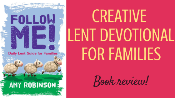 Follow Me by Amy Robinson (Kevin Mayhew) - book review by The Hope-Filled Family, UK Christian parenting and adoption blog.