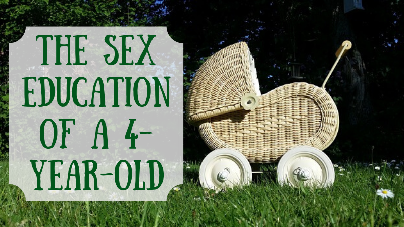 How do you teach about sex to a preschooler who's interested?
