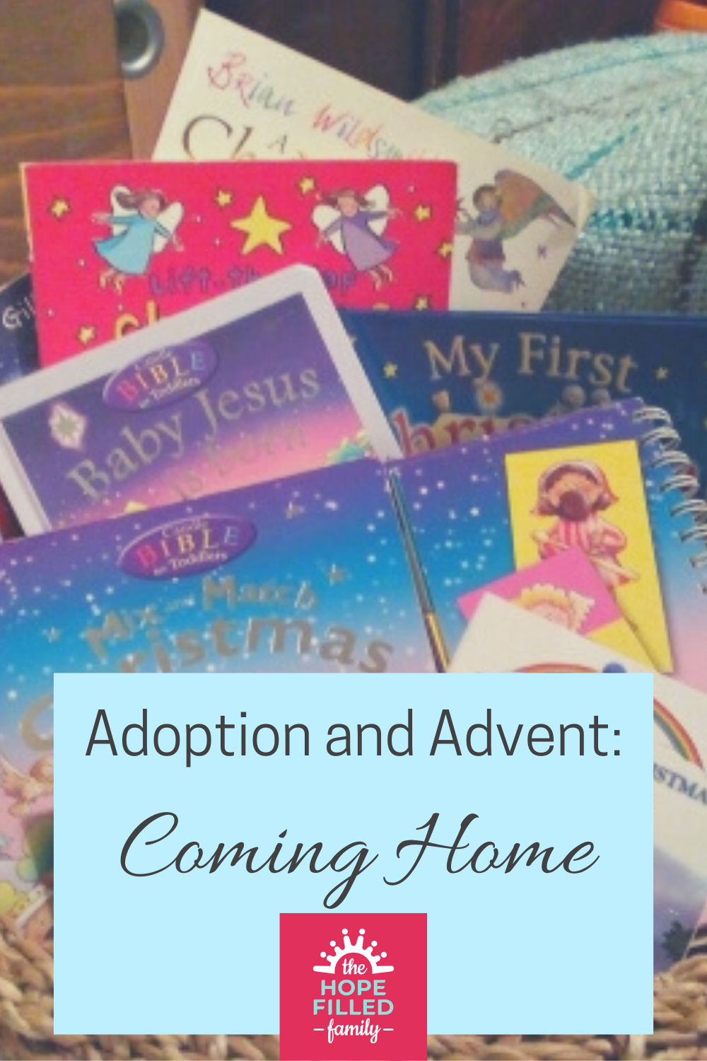 How Advent and adoption are linked; how Advent is a metaphor for our spiritual adoption; and how earthly adoption can be a metaphor for Advent. Chapter 1 of Redeeming Advent by Lucy Rycroft.