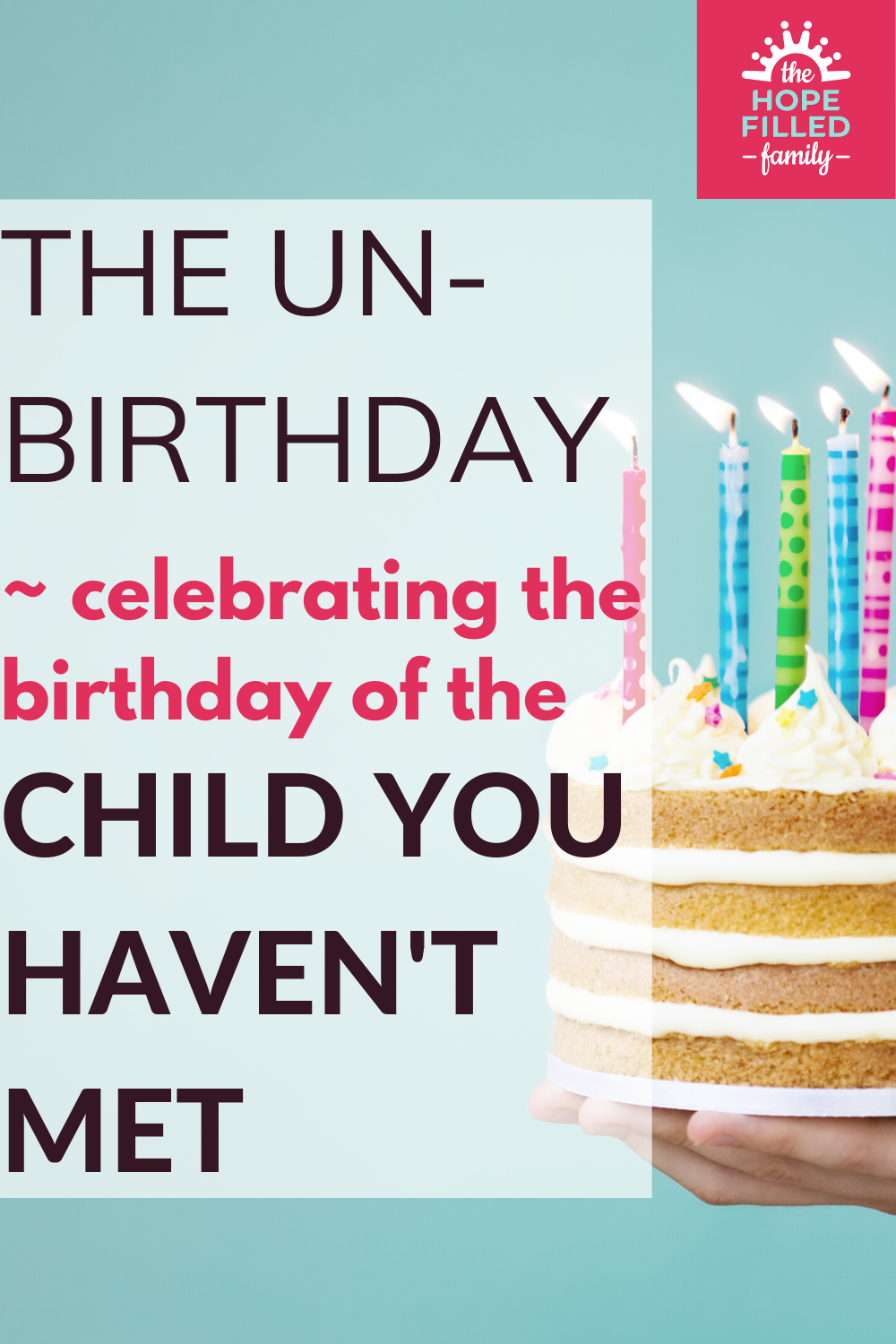 The strangeness of knowing that your child experienced birthdays before you met them.