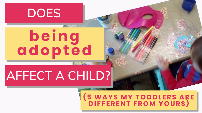 Does being adopted affect a child? Do adopted children behave differently? And what is the difference between adopted and non-adopted children? An adoptive mama shares her experience.