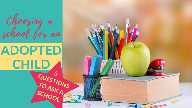 How do I find the best primary school for my child? If you have an adopted child starting school, this guide on how to choose a good school for your child will be invaluable.