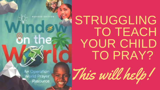 Window on the World by Jason Mandryk and Molly Wall, world prayer resource for kids and teens.