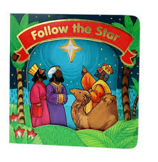 advent basket, follow the star board book