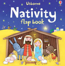 advent basket, usborne nativity flap book, preschoolers, toddlers, advent ideas