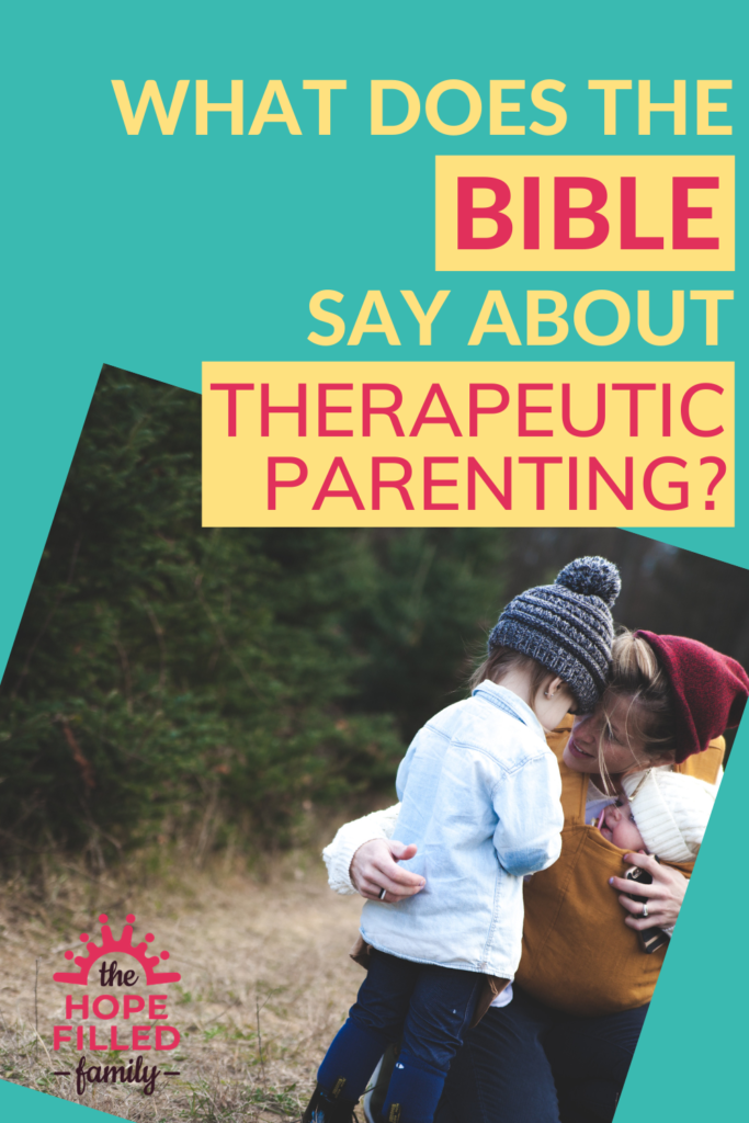 Therapeutic parenting is so beneficial for our adopted/fostered children - and, in fact, any children! But how does it match up with the Bible's wisdom on raising children, and the state of the human heart?