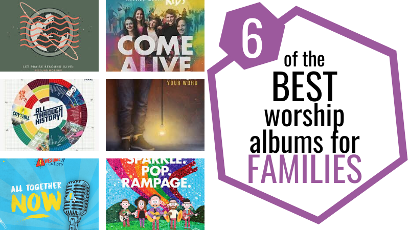 These family worship songs are great for kids and adults alike, containing upbeat family songs to get your family uniting in faith as you listen and sing along.