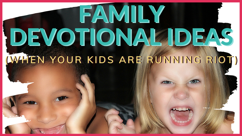 What is the best way to lead a family devotion? These family devotion ideas will help guide you through the chaos of family life towards Jesus together.