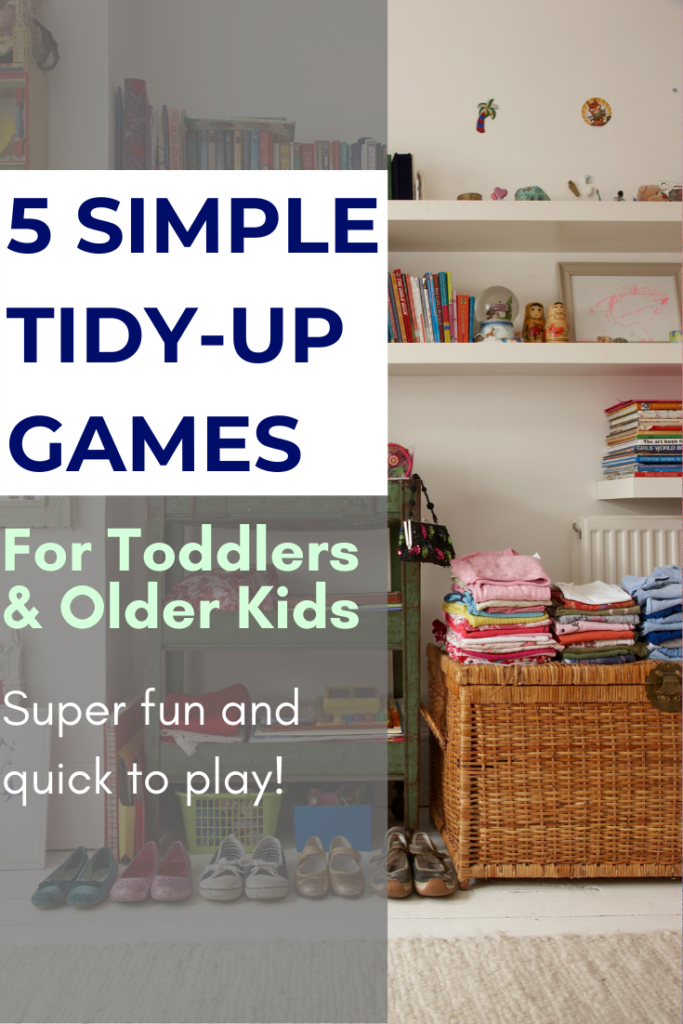 Make clean-up FUN! These tried-and-tested tidy-up games teach kids how to get things looking nice, as well as saving you stacks of time clearing up after them! #parenting #tidyup #cleanup #games #lifeskills