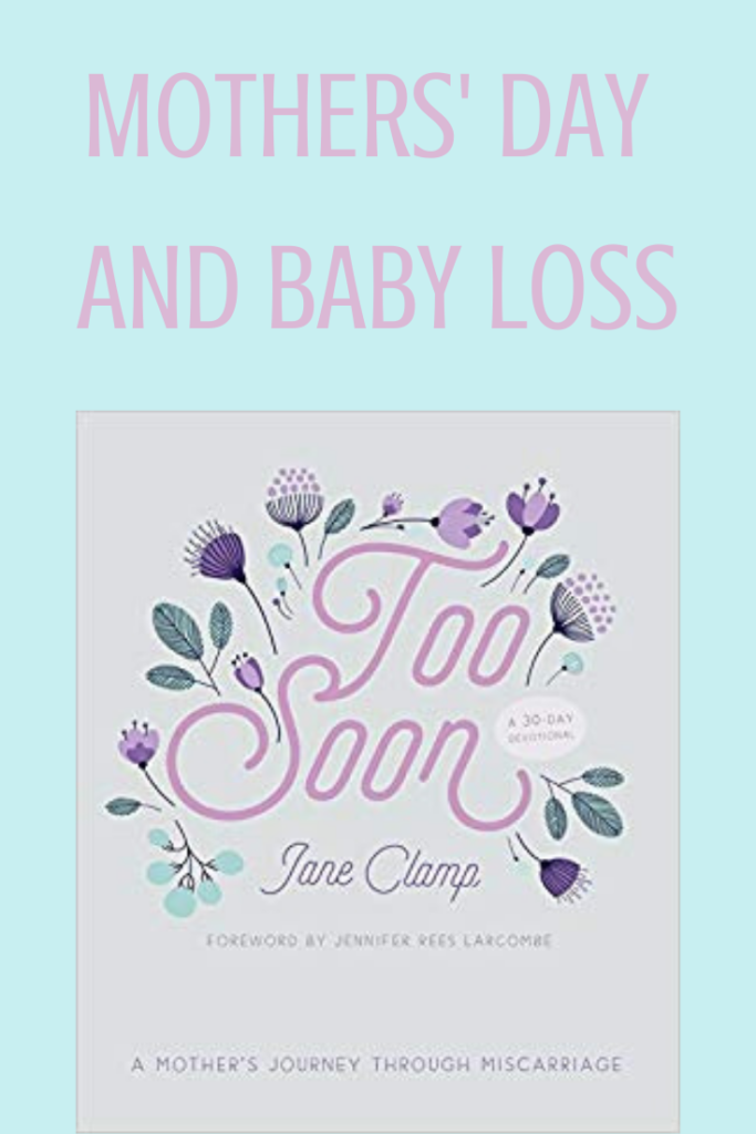 Too Soon by Jane Clamp (SPCK), book review, baby loss, miscarriage, The Hope-Filled Family