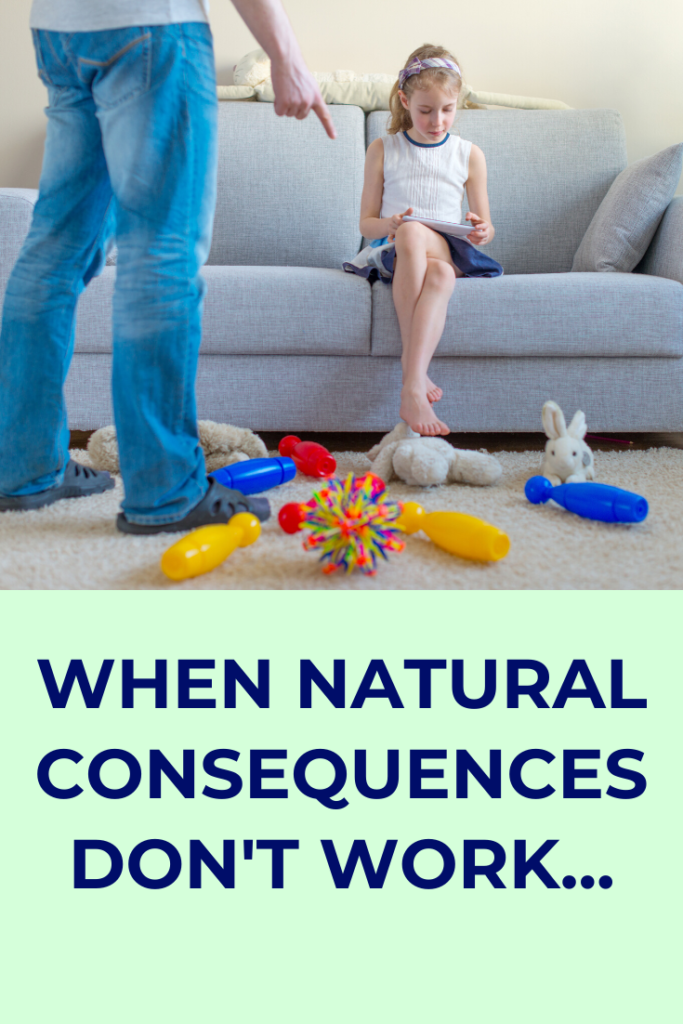 Natural consequences are recommended for children, particularly those who have insecure attachment styles due to having been adopted or fostered. But are they always sensible or wise?
