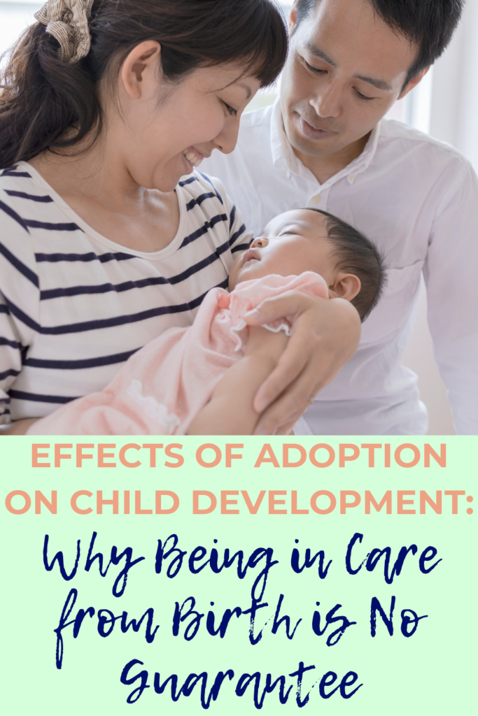 This article explains why adopted children are more susceptible to pre-birth factors which might affect their development, such as domestic violence, drinking alcohol and substance abuse. It counters the argument that just because a child is taken into care at birth they will be 'fine'.