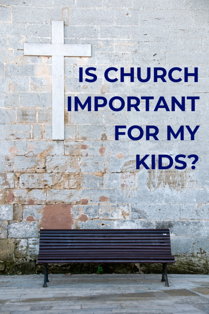 Is church just an extra curricular activity? Is it important for my family to attend church? What happens if we skip church?