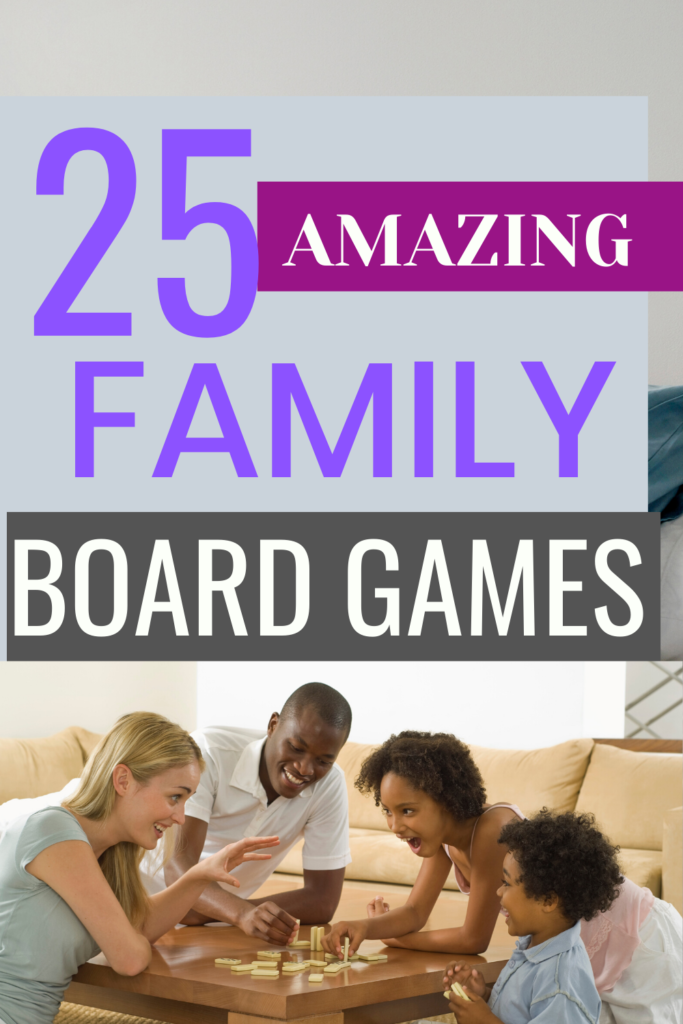 Loads of family game ideas which are fun for children and adults alike!