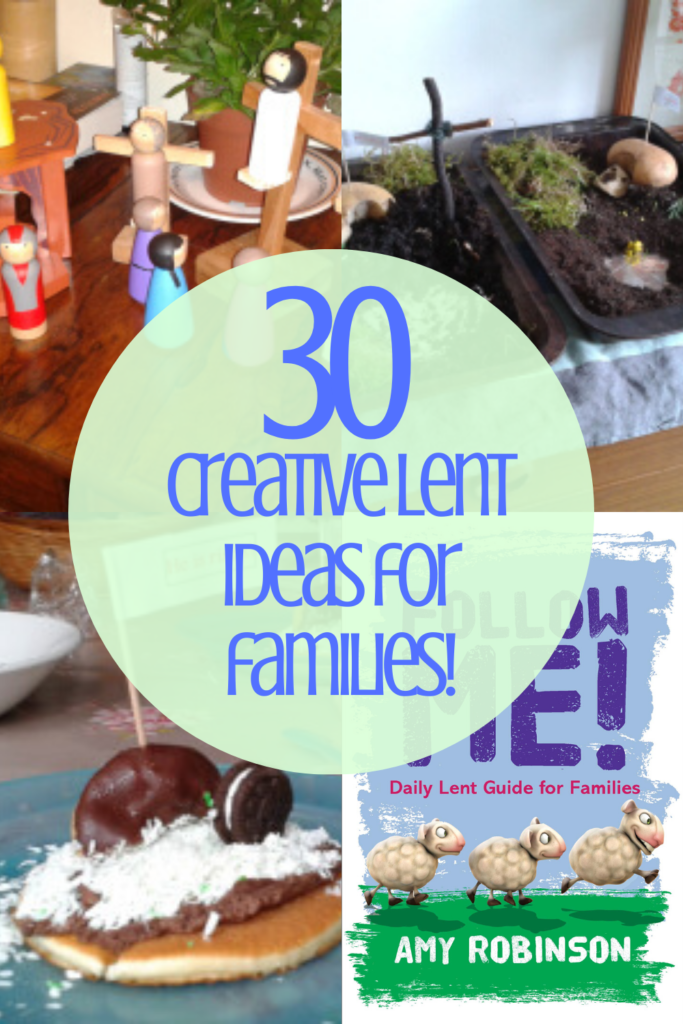 30 simple Lent activities for kids - including Lent devotions, creative crafts, food ideas and new habits. Whether you're Catholic, Lutheran or Protestant, this list will help you engage your family in Lent this year.