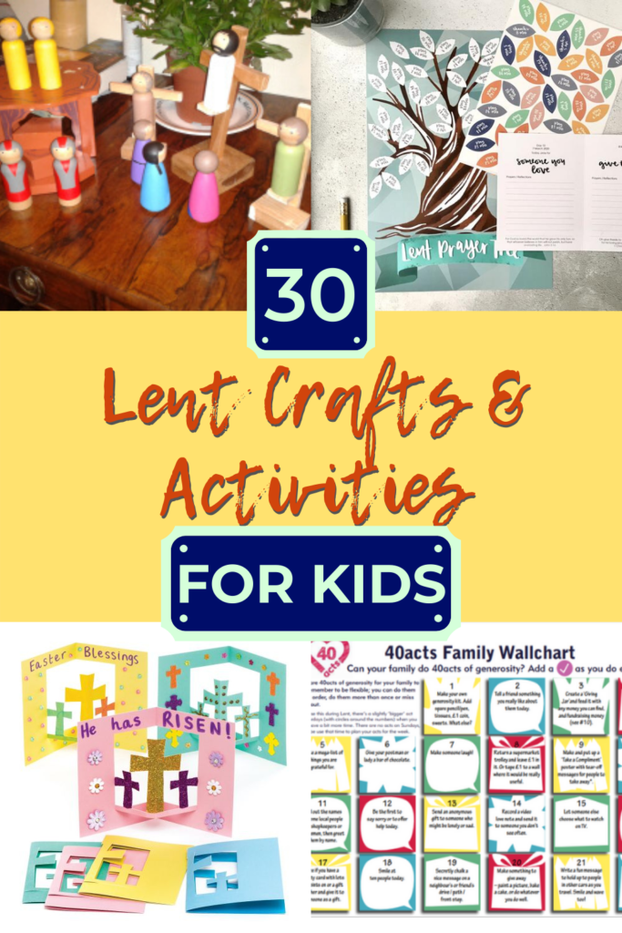 A jam-packed post of 30 creative Lenten crafts and other activities for kids. Whether Catholic, Lutheran or Protestant, you will find something here to help your child grasp the meaning of Lent.