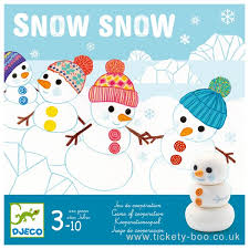 Snow Snow (Djeco game) review by UK Christian adoption and parenting blog The Hope-Filled Family.