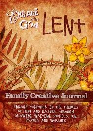 Engage with God - Lent Family Creative Journal from Engage Worship. Lent devotional for families.