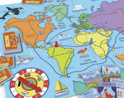 Travel the World game (ELC) review by UK Christian adoption and parenting blog The Hope-Filled Family.