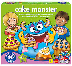 Cake Monster (Orchard Toys) review by UK Christian adoption and parenting blog The Hope-Filled Family.