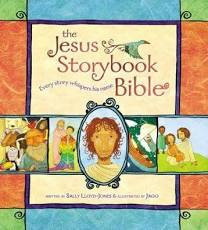 The Jesus Storybook Bible (Sally Lloyd-Jones and Jago) -10 best family devotion resources suitable for all ages, interests and family set-ups.