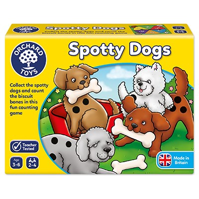 Spotty Dogs (Orchard Toys) review by UK Christian adoption and parenting blog The Hope-Filled Family.