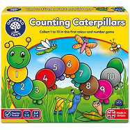 Counting Caterpillars (Orchard Toys) review by  UK Christian adoption and parenting blog The Hope-Filled Family.