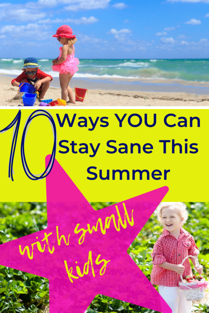 Daunted by the prospect of a long summer break with young children? This guide is packed full of tips, ideas and activities to help you preserve your sanity! #summer #parenting #toddlers #babies #preschoolers