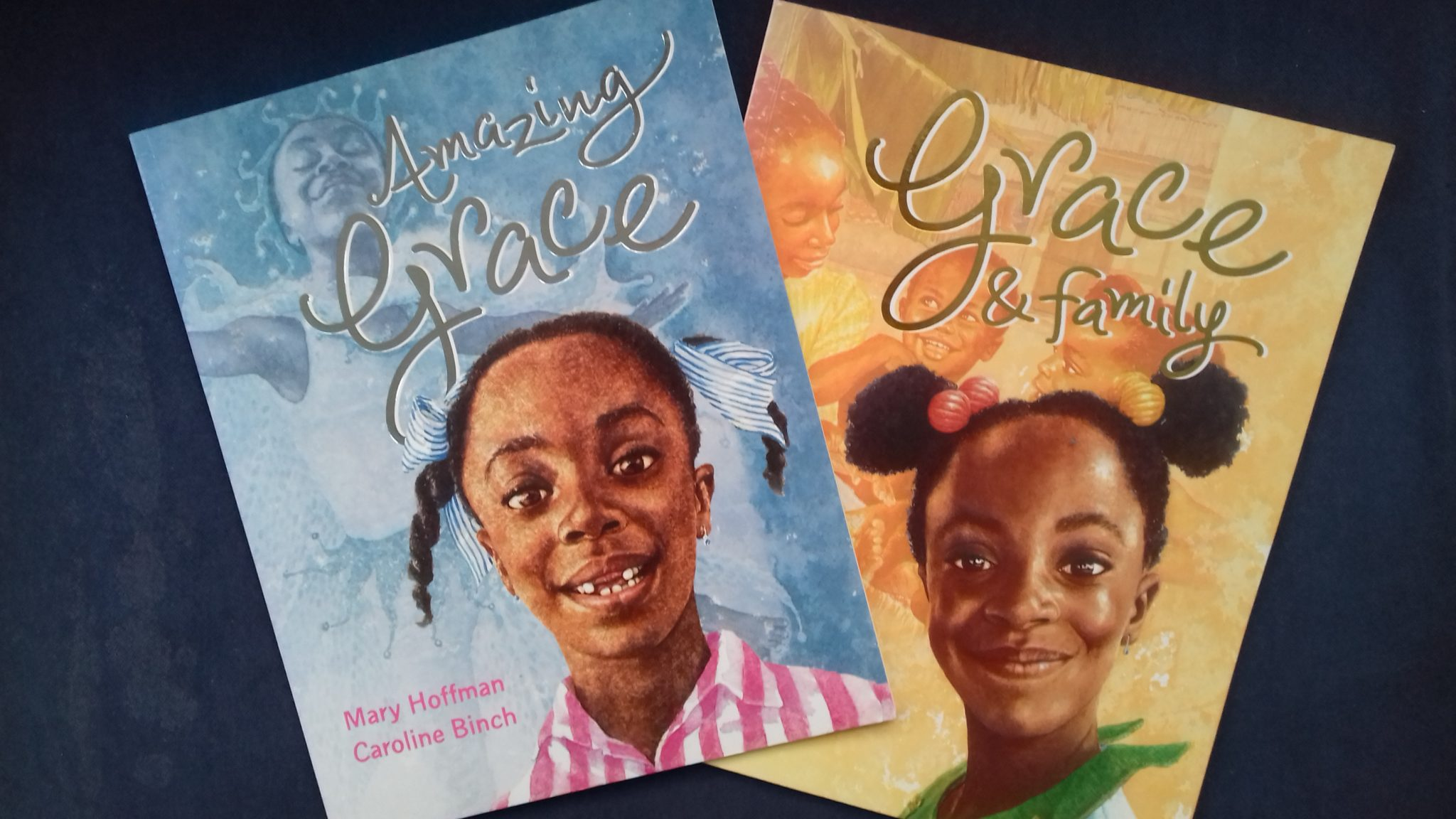 Amazing Grace and Grace & Family - Check out this list of 25+ cultural diversity books for children, all tried and tested by our own family.
