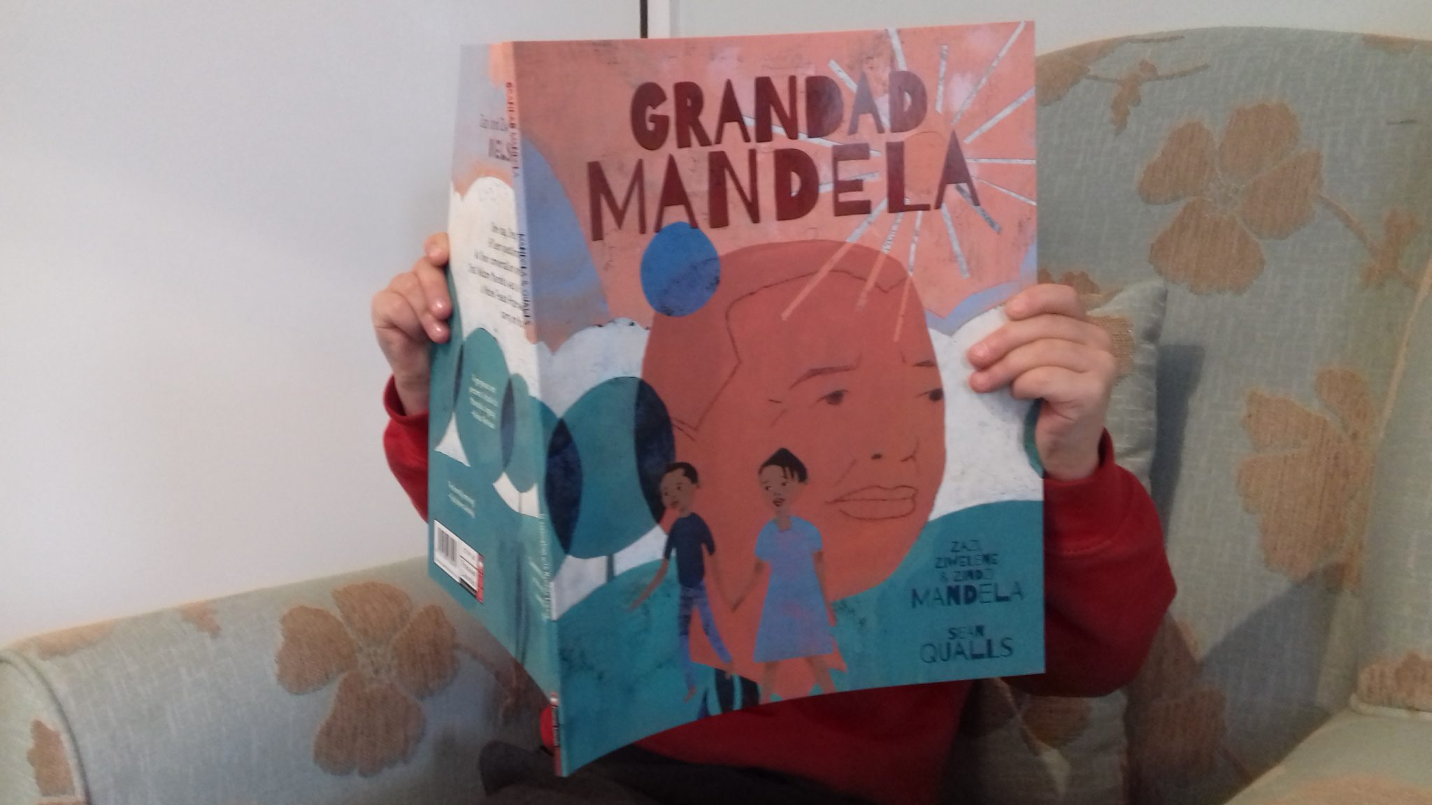 Grandad Mandela - Check out this list of 25+ cultural diversity books for children, all tried and tested by our own family.