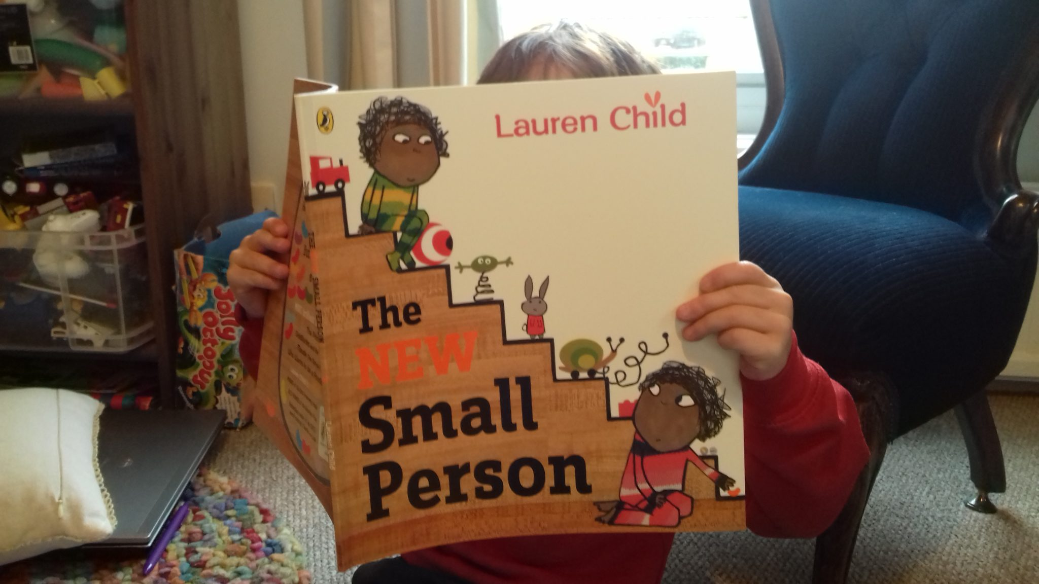 The new small person (Lauren Child) - Looking for multicultural books for your children? This list features 25+ of the best diversity books about race and culture for the kids in your family or your classroom.