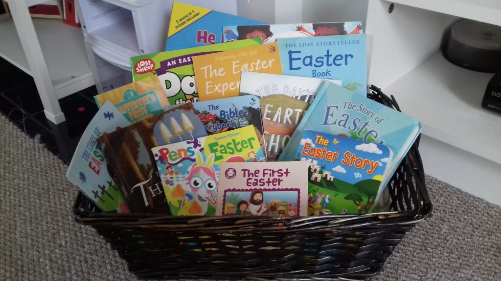 creative lent ideas, creative easter ideas, for children and families, easter basket, easter books and resources for families
