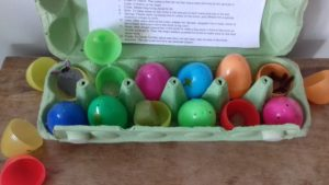 creative lent ideas, creative easter ideas, resurrection eggs, easter storytelling for young children