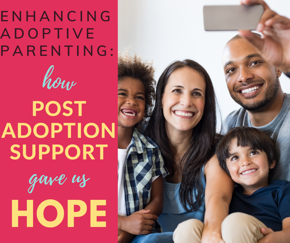 Looking for post adoption support services? The Enhancing Adoptive Parenting (EAP) course was a godsend for us - it's brilliant support for adoptive parents, and fully funded by the Adoption Support Fund.