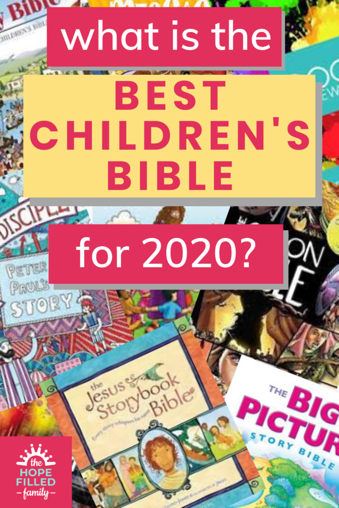 What is the best children's Bible? Here's a rundown of the best Bibles for toddlers, children and teens.