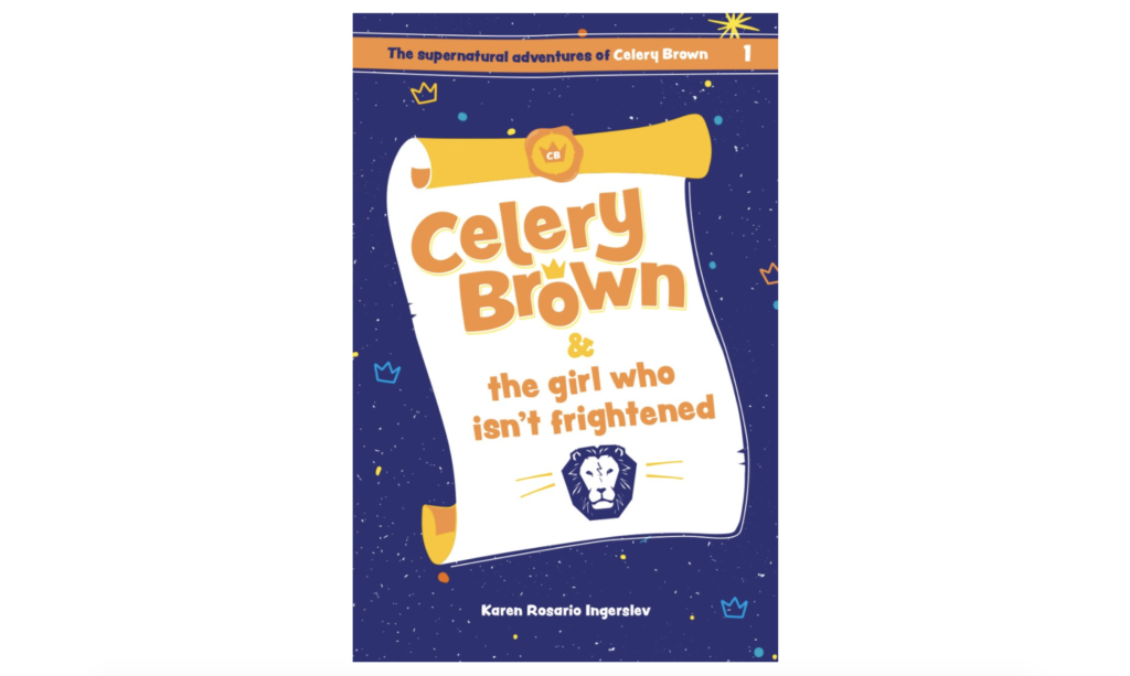 A guide to the best Christian fiction book ideas for children and tweens, with ideas for 5-7, 8-10 and 10-12 year olds. For children's books with Christian values, look no further! Celery Brown & The Girl who Isn't Frightened - Karen Rosario Ingerslev.