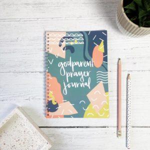 Godparent prayer journal - Hope & Ginger, The Hope-Filled Family