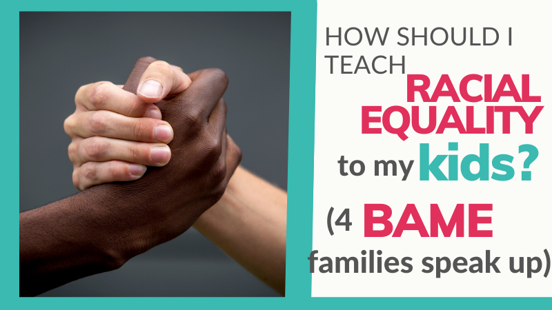 Talking to children about racism, BAME issues, racial injustice, equality and diversity is never easy. In this blog post, four BAME families share what they'd like white families to know about these important issues.