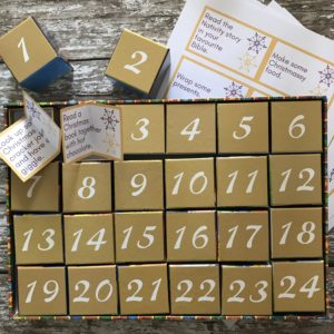 Active Advent calendar activities - from How to Celebrate Advent at Home: 10 Advent Ideas for Families.