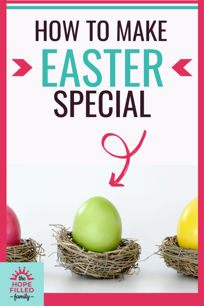 Loads of ways to make Easter special, from Easter-themed books to crafts, foodie treats and family traditions. Celebrate the risen Jesus in creative ways!