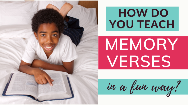 How do you teach memory verses in a fun way? Memory verse games for non-readers, how to remember foundational Bible memory verses, how to teach a child to memorize Bible verses.